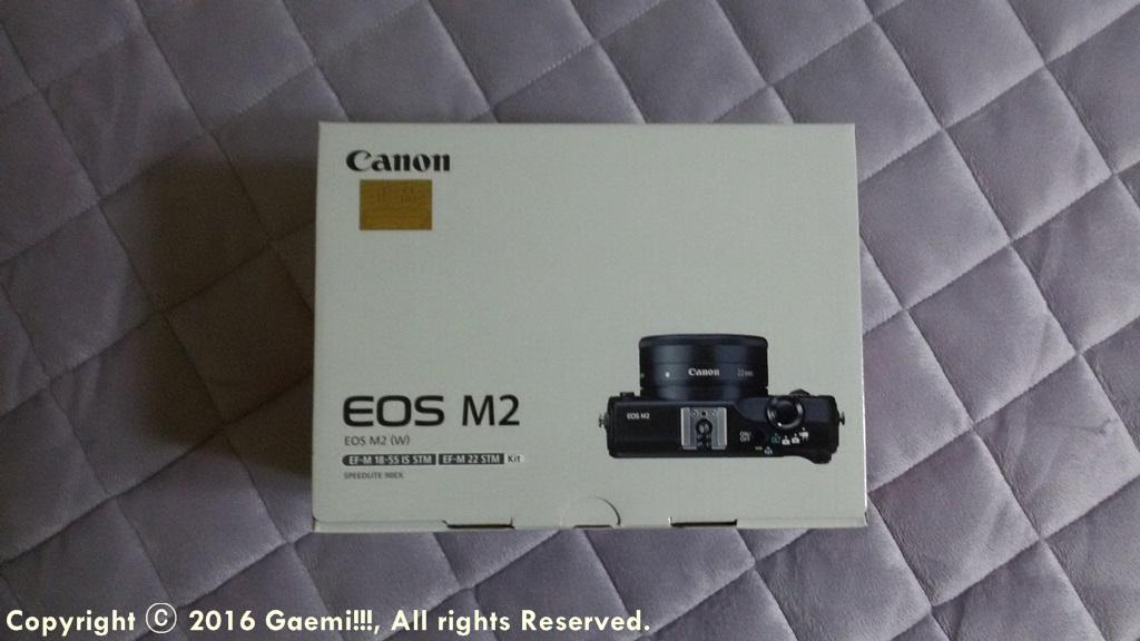 [Canon] Canon EOS-M2 번들렌즈킷 구입기