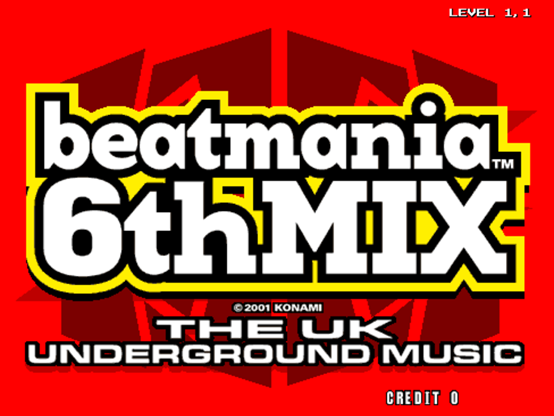 [5키 비트매니아 정보] beatmania 6thMIX