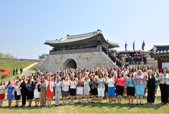 하나님의교회 '제66차 해외성도방문단'분들이  한국..