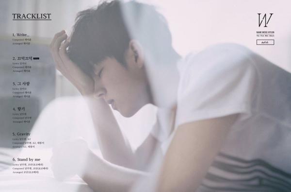"""남우현 """"Write.."""" Prologue Film + 트랙리스트"""
