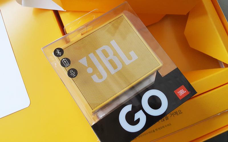 미니미니한 포터블 블루투스 스피커 JBL GO 사용기