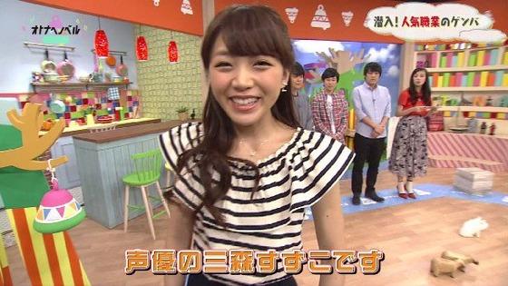 성우 미모리 스즈코, 일본 NHK 교육TV의 방송에..