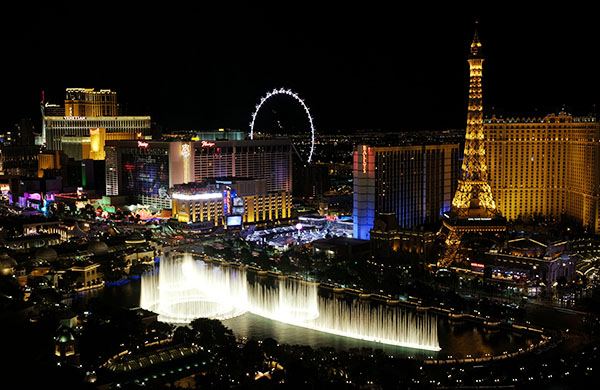 2016, Las Vegas, US - The Cosmopolitan o..