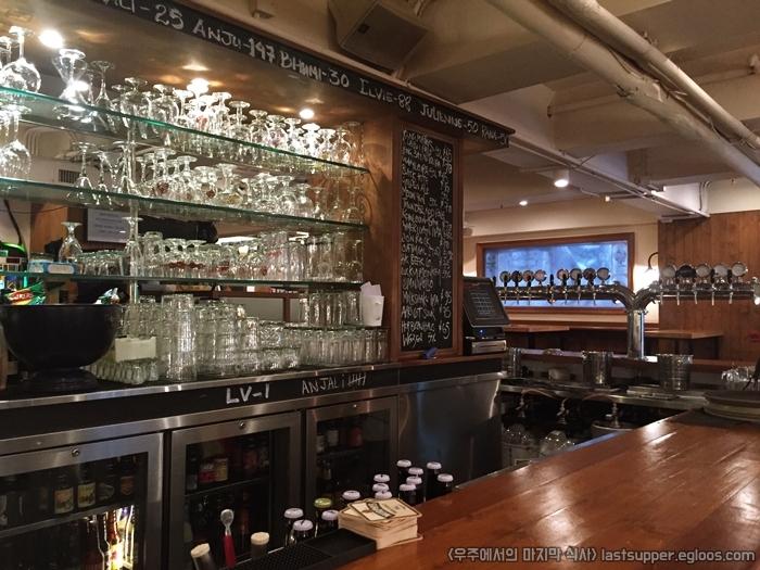 [2016년 3월 홍콩 아트바젤] the globe 에서 맥주..