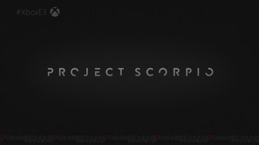 신형 게임기 'PROJECT SCORPIO' 2017년 홀리데이..