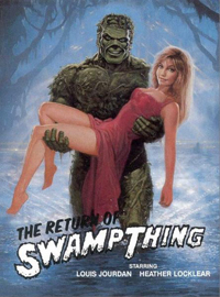 늪지의 괴물 2 The Return Of Swamp Thing (1989)