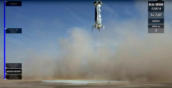 우주비행 최초 생중계