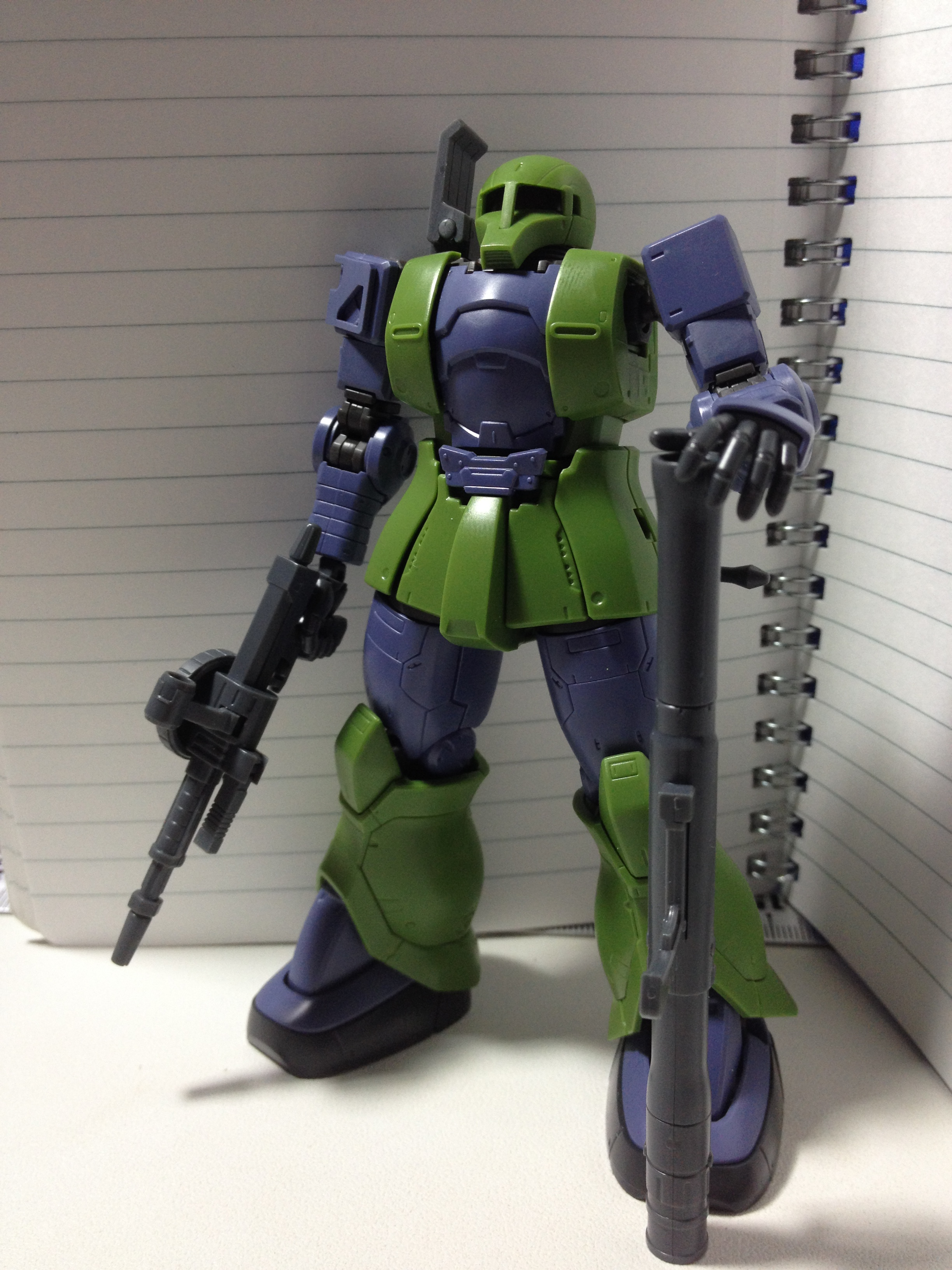 [HG Gundam the Origin] #009 MS-05 ZAKU I