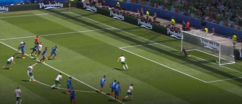 [유로 2016] 프랑스 2:1 아일랜드