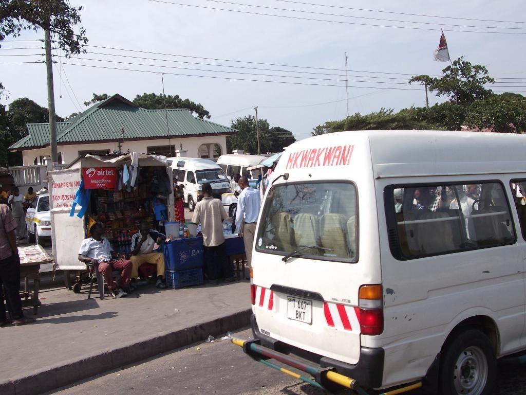 [탄자니아] 우붕고 버스 터미널