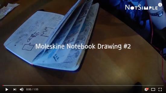 Moleskine Notebook Drawing #2