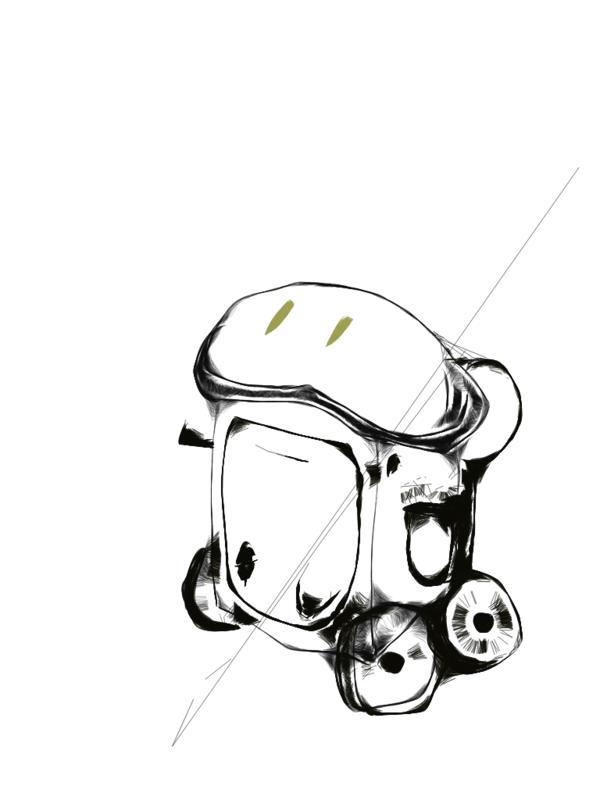 나를 졸졸 쫓아 다니는 로봇을 만들고 싶었던 내 꿈이..