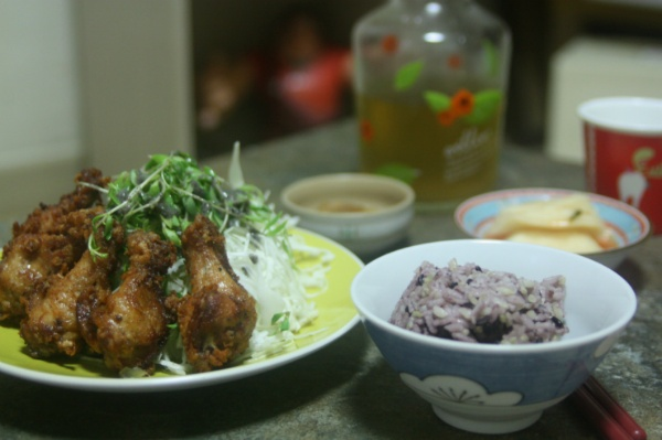 닭봉 간장양념 튀김, 치밥과 치맥 둘다 ok!!