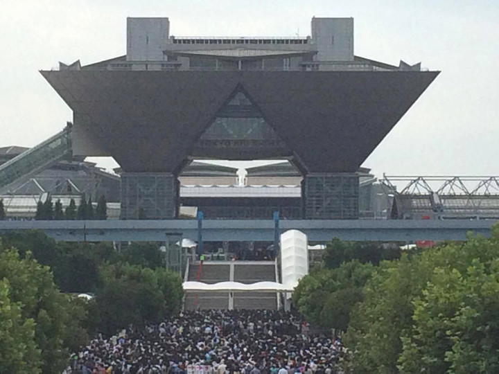 코믹마켓90, 2016년 8월 12일, 도쿄 빅사이트에서 개막