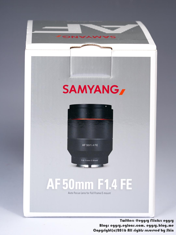 삼양 AF 50/1.4 FE 개봉기