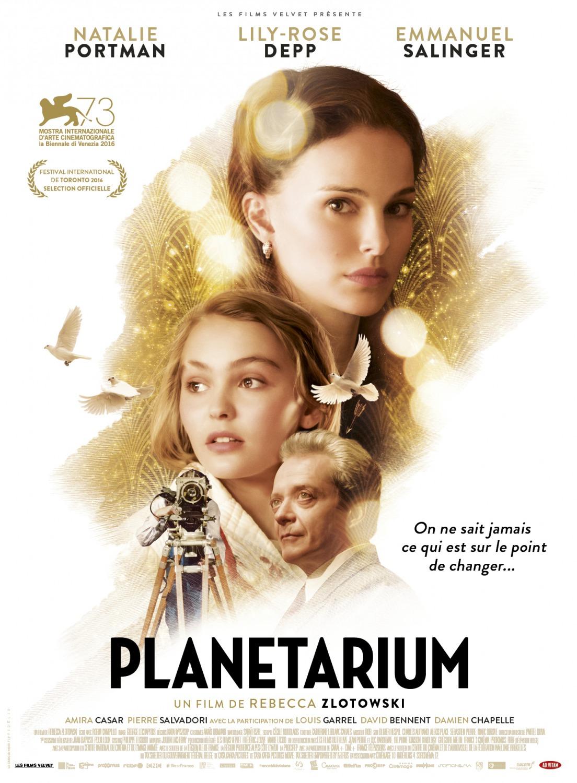 """레베카 즐로토브스키 감독의 신작, """"Planetarium"""" .."""
