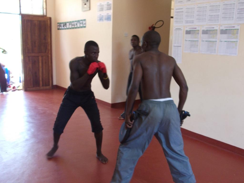 [탄자니아] 복싱 연습