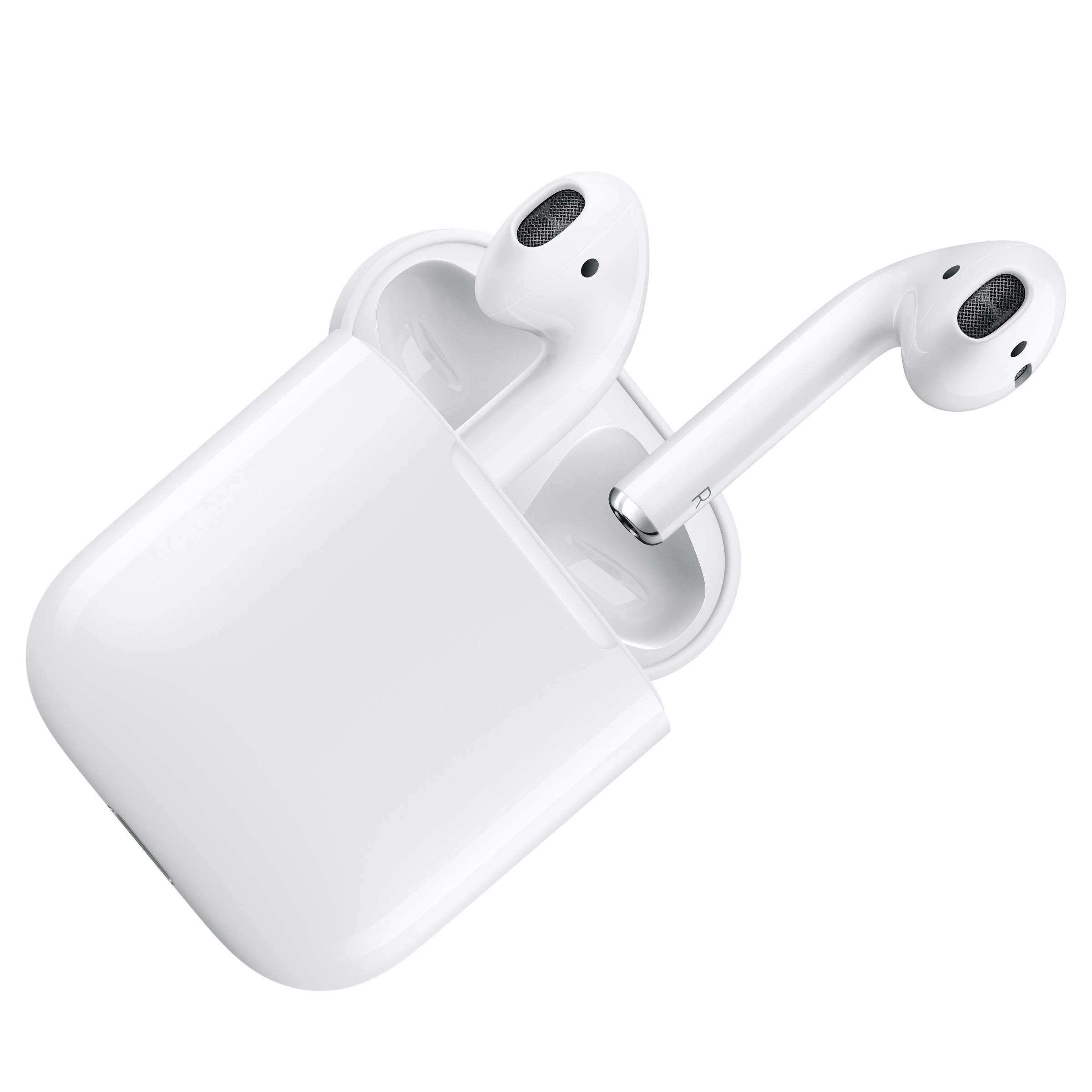 애플, 무선이어폰 에어팟 발표