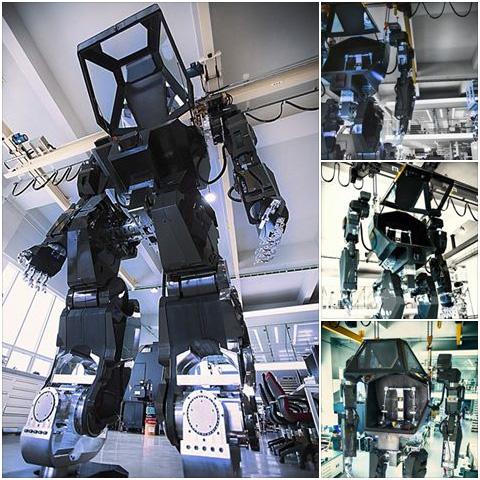 한국의 어느 업체에서 제작중인 2족보행 로봇