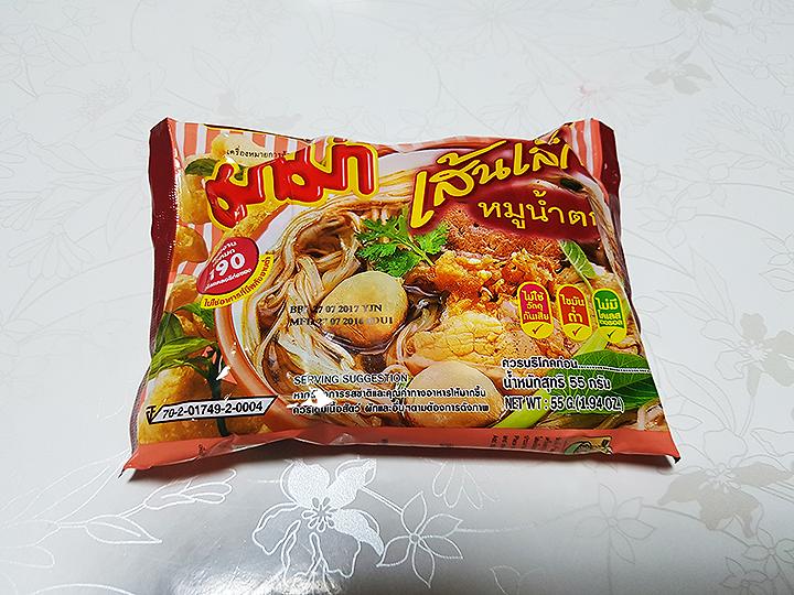 태국 무남톡 인스턴트 쌀국수