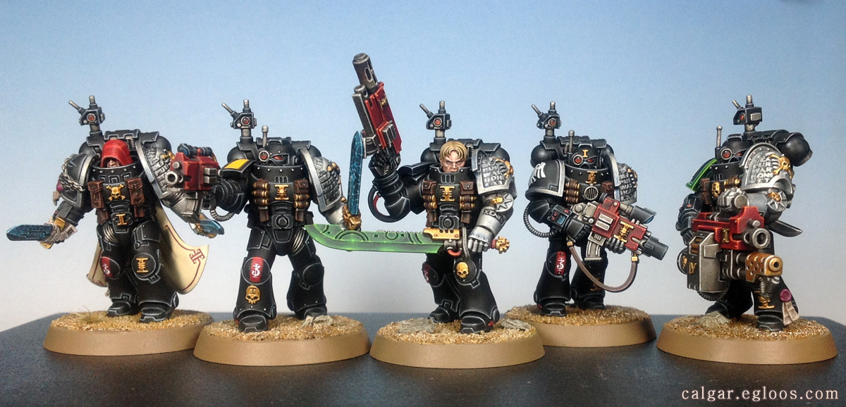 [WH 40k] 데스워치 킬팀 (Deathwatch Kill Te..