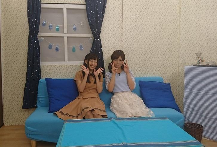 성우 후치가미 마이 & 요시오카 마이씨의 사진, 방..