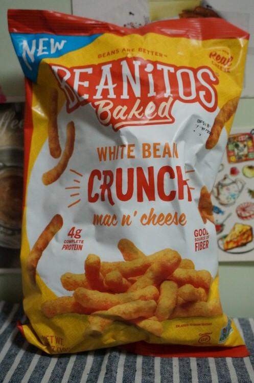 아이허브 과자 맥앤치즈과자 Iherb Beanitos, Whit..