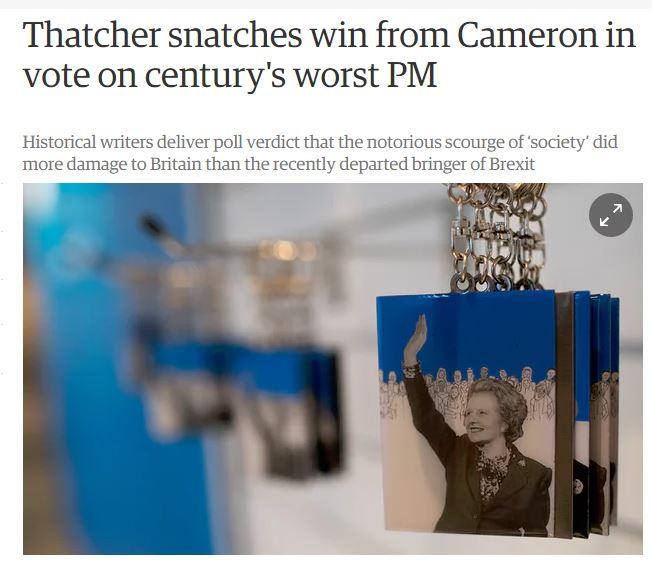 """""""최악의 영국 총리는 누구인가?"""""""