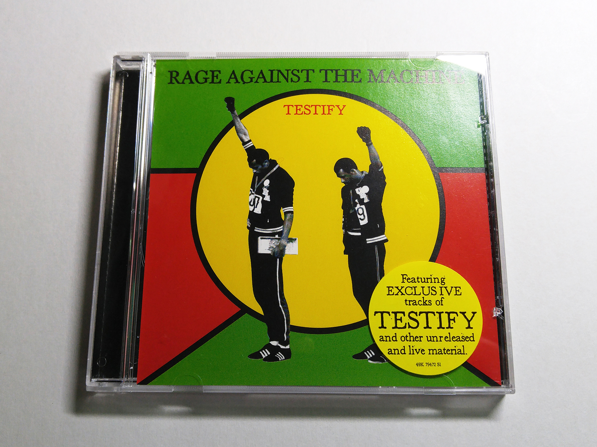 (single) Testify  - Rage Against The Mac..