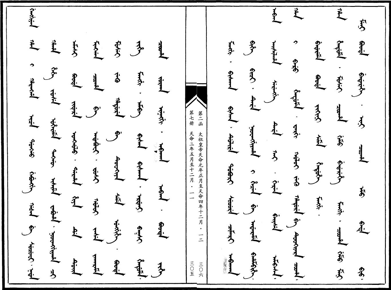 만주어 만문노당 144부-버이러들<이제 회군합시다!>
