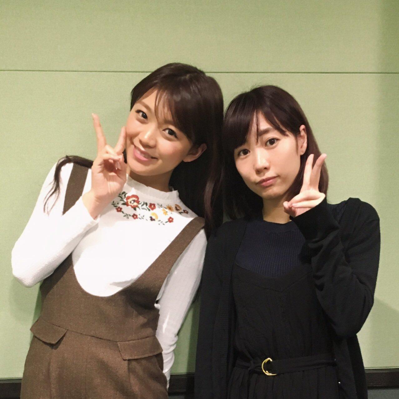 성우 미모리 스즈코 & 쿠스다 아이나씨의 사진, 라..