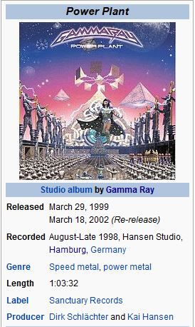GAMMA RAY - 11. ARMAGEDDON/POWERPLANT(..