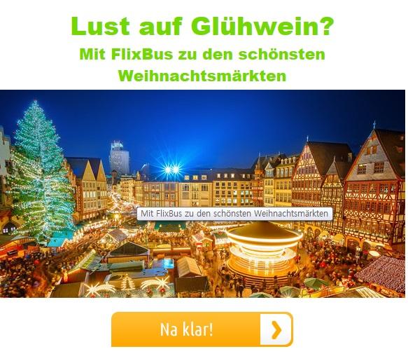 크리스마스 마켓을 떠올리게 해준 Flixbus 광고