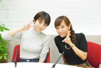 성우 쿠보 유리카 & 다카가키 아야히씨의 사진, ..