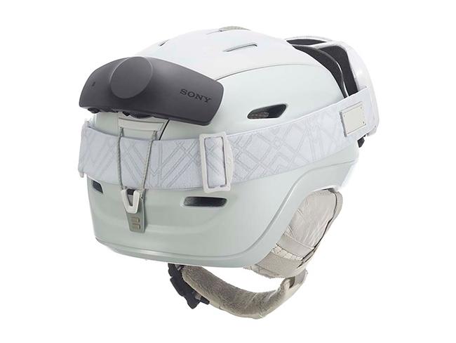 Sony에서 겨울 스포츠용 헬멧 마운트 무선 헤드셋..