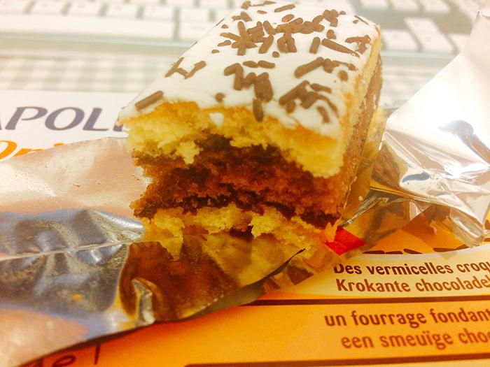 [뤼 나폴리탄] 3층으로 쌓인 달콤한 미니케이크