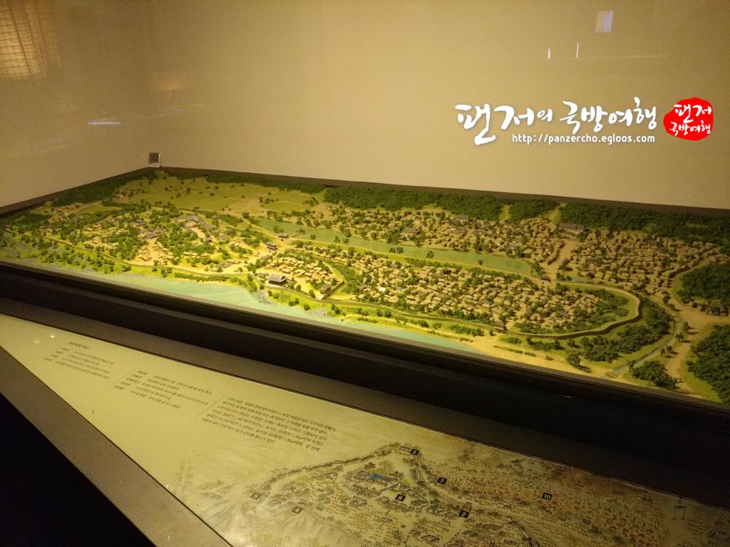 조선후기 경상우도병영성인 진주읍성 모형