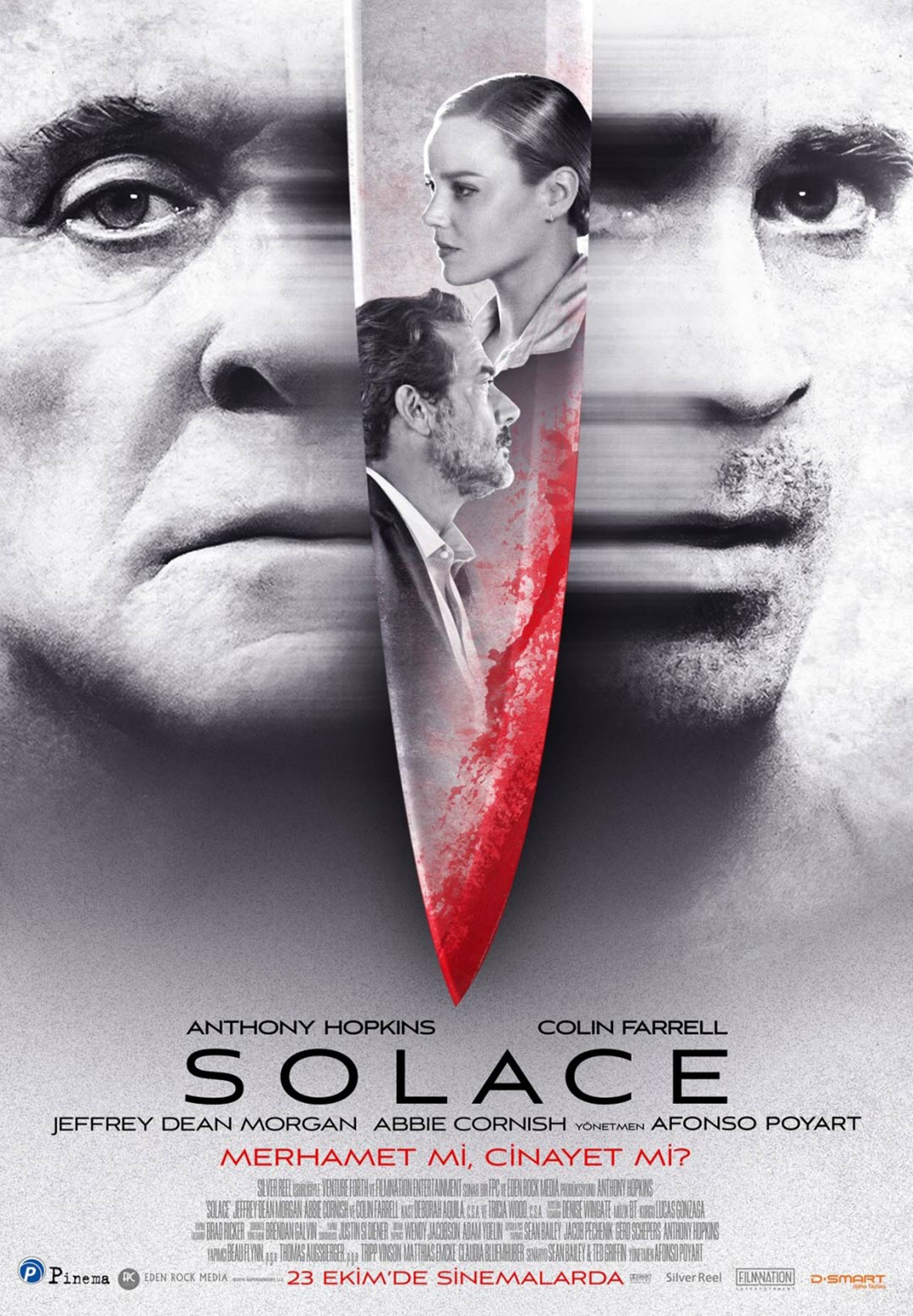 """안소니 홉킨스 + 콜린 파렐, """"Solace"""" 예고편입니다."""