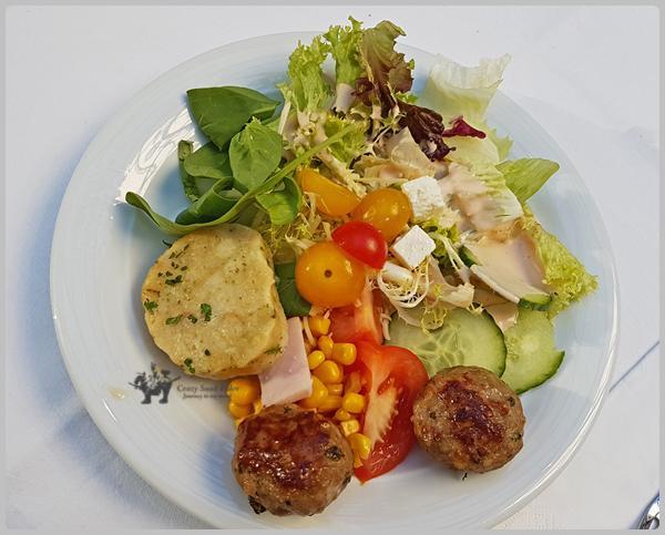 컨퍼런스에서의 점심 식사들