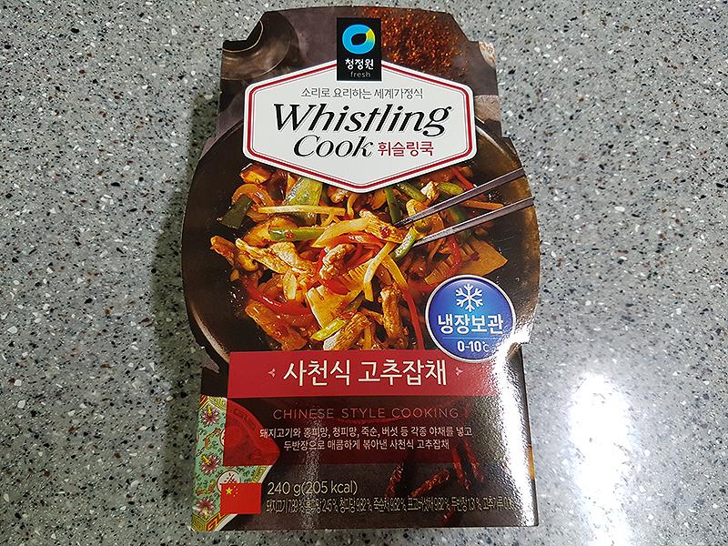 청정원 사천식 고추잡채, 집에서 고추잡채를~