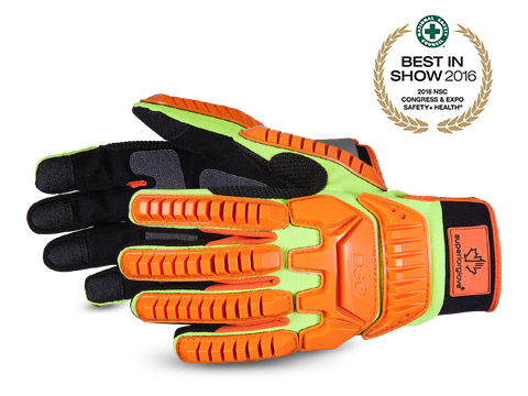 Clutch Gear® Hi-Viz D3O Gloves
