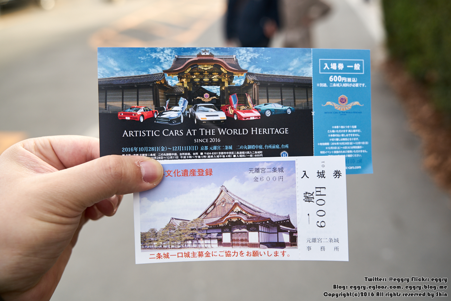 Artistic Cars at the World Heritage - 니조 성을..
