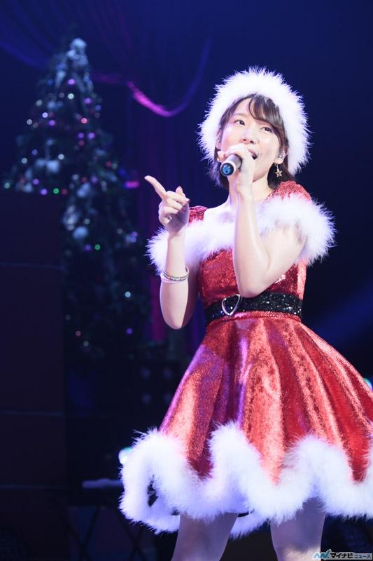 성우 우치다 마아야씨의 크리스마스 라이브 이벤트 사진