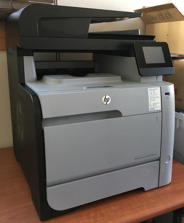 HP 컬러 복합기 MFP M476nw 사용기