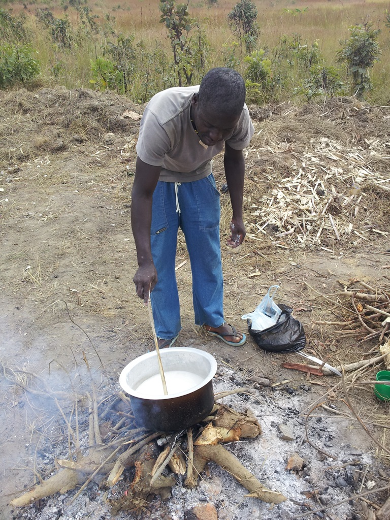 [모잠비크] 우갈리 먹기