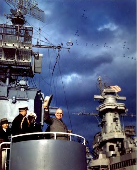 냉전초 미국 군사전략과 해군의 반발...