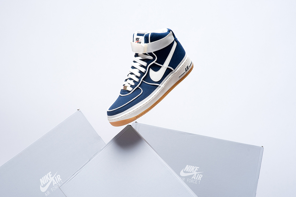 """- Nike Air Force 1 Takes on a """"Binary Blue.."""