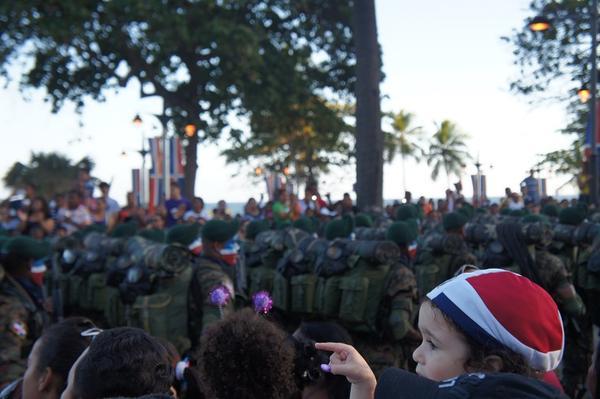 도미니카 공화국 독립기념 행진