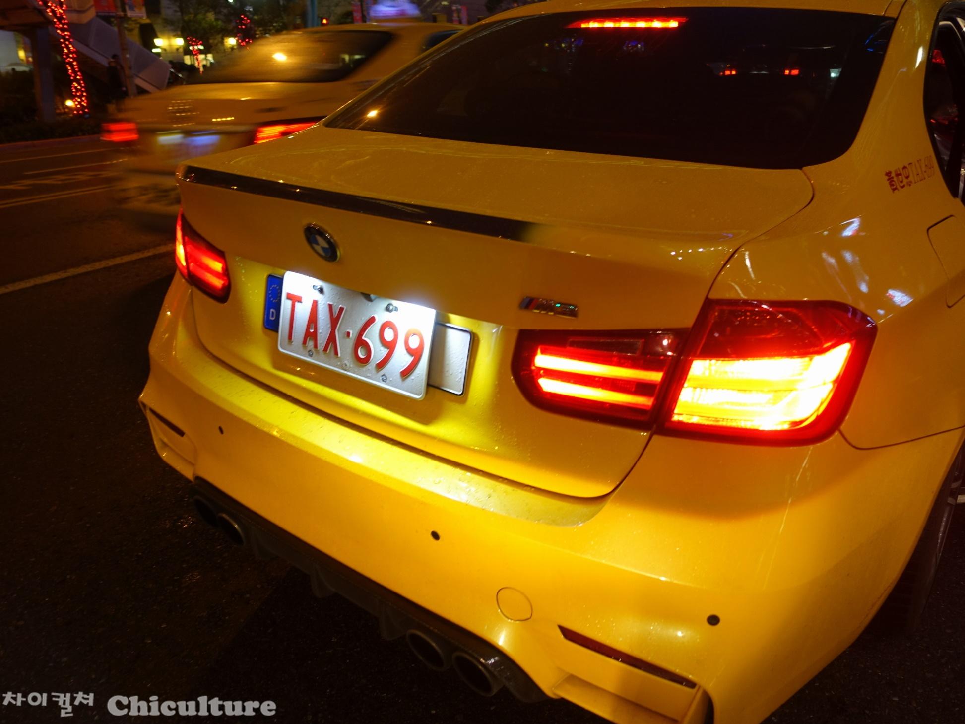 대만에서 타 본 BMW 택시