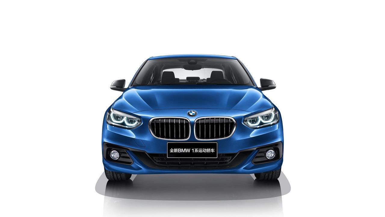 중국전용 BMW 1시리즈 세단 공개